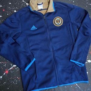 Philadelphia Union RARE Adidas anthem jacket MLS